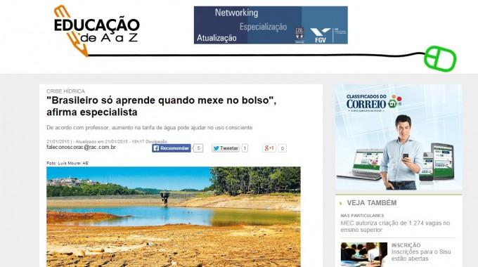 """"""" Brasileiro Só Aprende Quando Mexe No Bolso """", Afirma Especialista"""