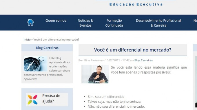 Alumni FGV Divulga Artigo De Prof Fabiana Iokoi – Você é Um Diferencial No Mercado?