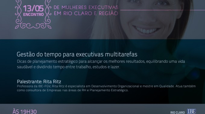 Encontro De Mulheres Executivas De Rio Claro E Região