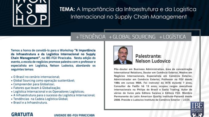 Logística Internacional E Gestão De Abastecimento Será Pauta De Workshop Em Piracicaba