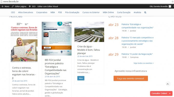 Noticia CHAT Online