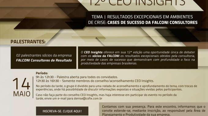 Executivos Brasileiros Discutem Resultados Em Tempos De Crise
