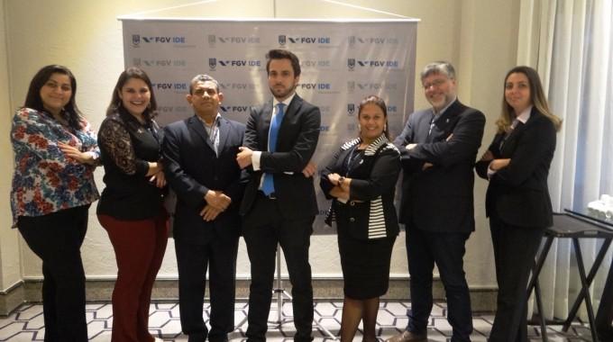 Equipe Da IBE No CEO FGV Internacional