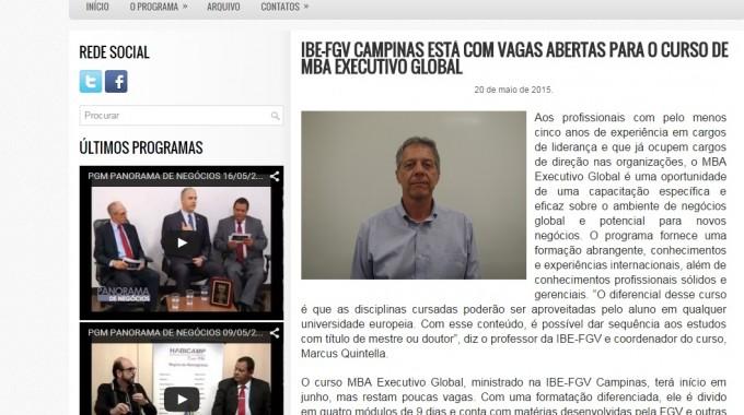 Mba Global No PN