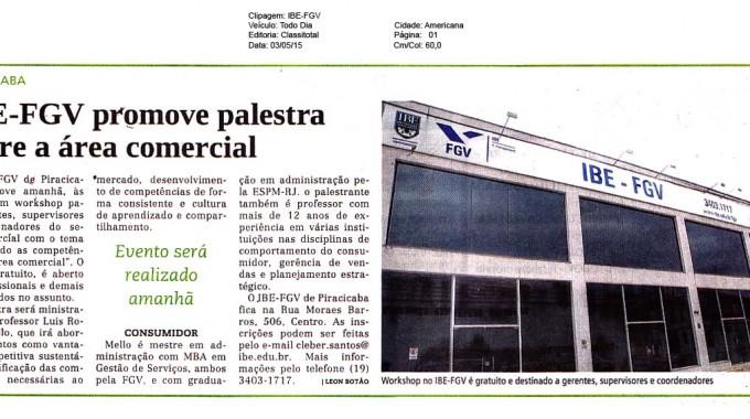 Jornal Todo Dia Divulga Workshop Em Piracicaba