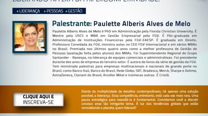IBE Conveniada FGV Jundiaí Realiza Palestra Sobre Liderança E Hipercompetitividade