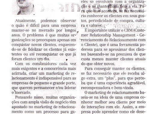 A Importância Do Marketing De Relacionamento. Matéria No Jornal Todo Dia Com O Especialista, Robson Paniago.