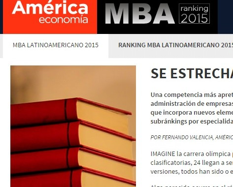 FGV 3ª Mba Ranking America Economia