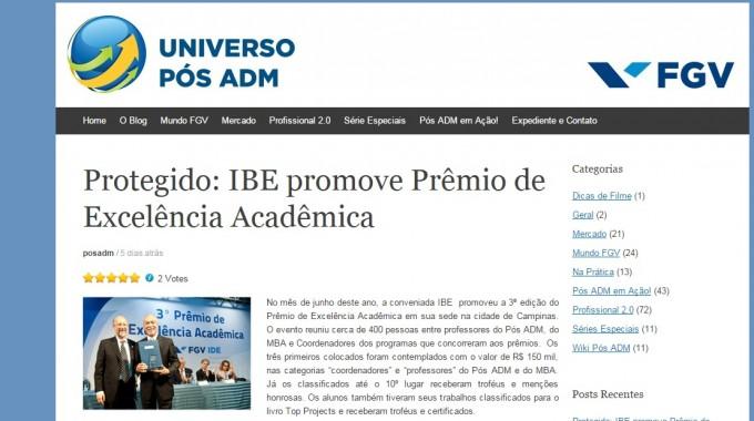 Blog Universo Pós Adm