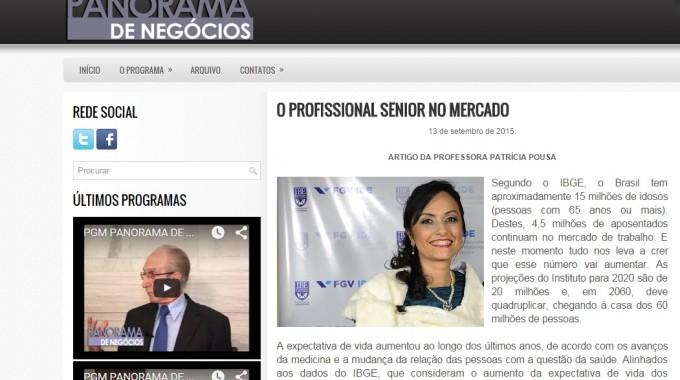 Patricia Pousa No Panorama De Negocios