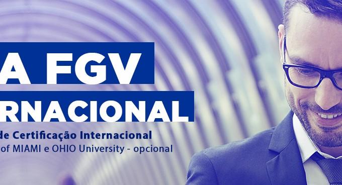 IBE Conveniada FGV Jundiaí Oferece Programa De Formação Rápida E Dois Diplomas