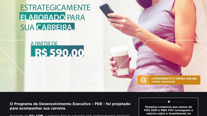 Pos ADM + MBA = PDE 590,00 Dez2015