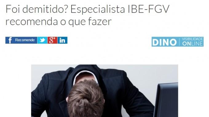 Foi Demitido? Especialista IBE Conveniada FGV Recomenda O Que Fazer – Exame