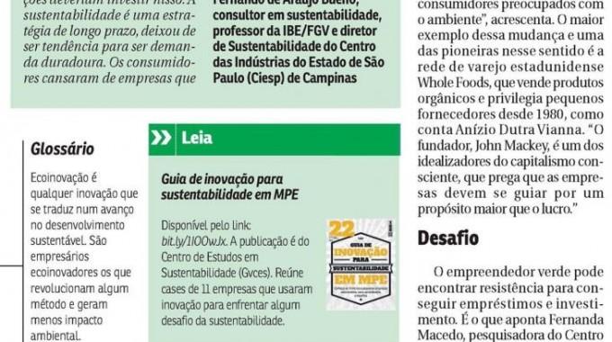 Correio Braziliense Sustentabilidade Jan2016