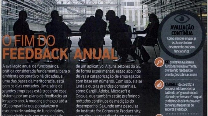O Fim Do Feedback Anual