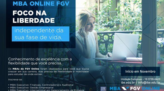 Especialização Online Turbina Currículo