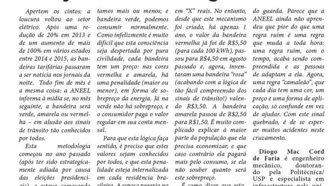 Conta De Luz: A Bandeira Rosa, A Laranja, A Verde-musgo..
