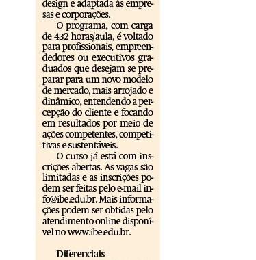 IBE Conveniada FGV Tem Novo Curso MBA – Jornal De Jundiaí