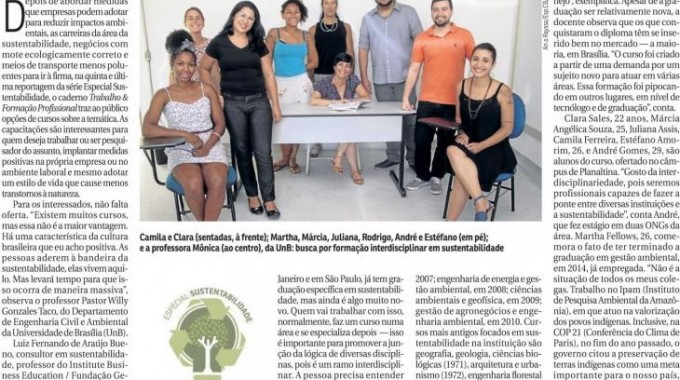 Correio Braziliense Luiz Bueno Estudar Preservar O Planeta