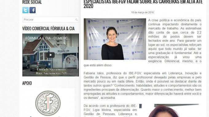 Panorama Ligia Molina E Fabiana Iokoi