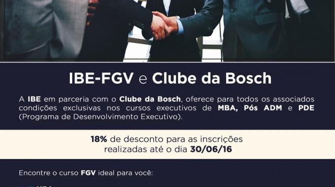Ibe E Clube Bosch