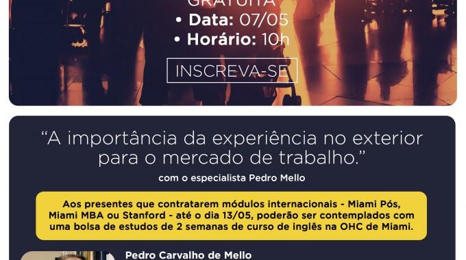 Experiência Internacional Alavanca Currículo?