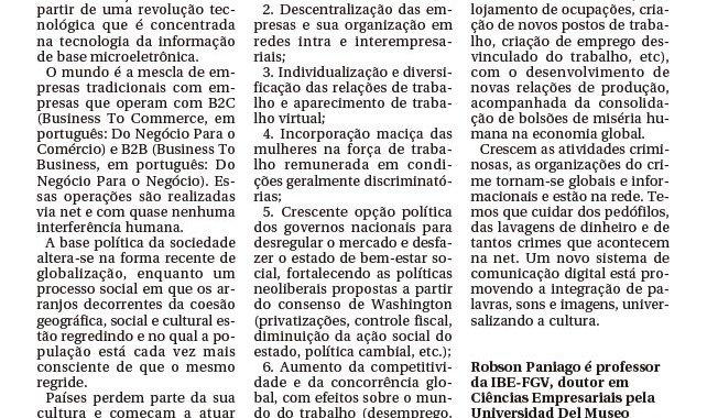 Gestão Globalizada – Gazeta De Piracicaba