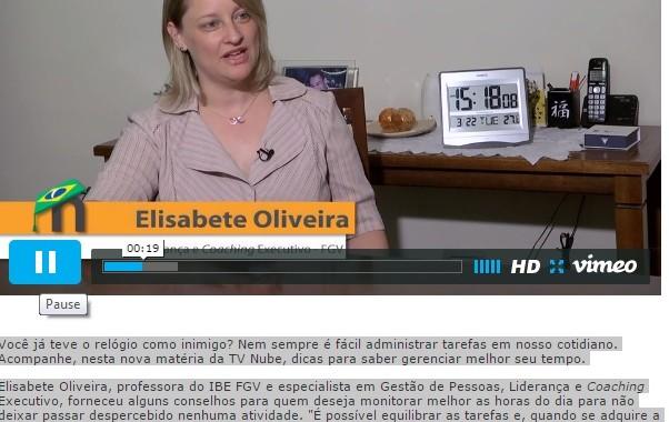 IBE Conveniada FGV Na TV Nube: Gestão Do Tempo