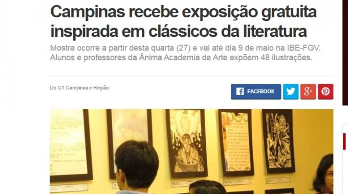 Campinas Recebe Exposição Gratuita Inspirada Em Clássicos Da Literatura