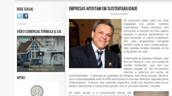 Sustentabilidade Empresas Apostam Nessa Iniciativa