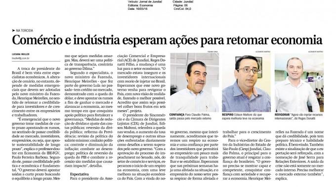 Comércio E Indústria Esperam Ações Para Retomar A Economia