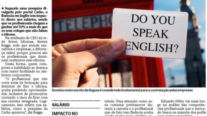 Profissionais Fluentes Em Inglês Ganham Até 50% Mais