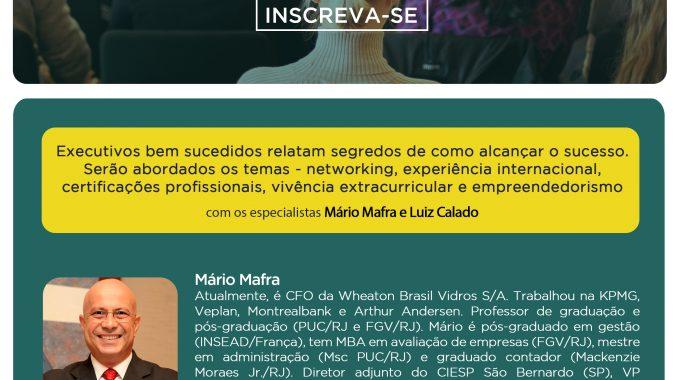Especialistas Falam Sobre Carreira Em Finanças Na IBE Conveniada FGV