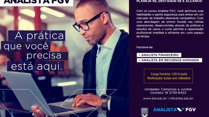 A Prática Que Você Precisa Está Aqui: Analista FGV 2016