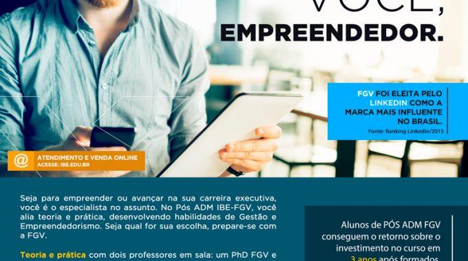Pós-ADM Internacional Para Você, Empreendedor