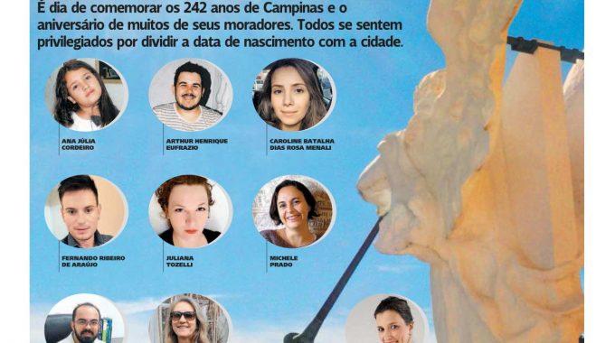 FGV Campinas é Citada No Aniversário De 242 Anos De Campinas