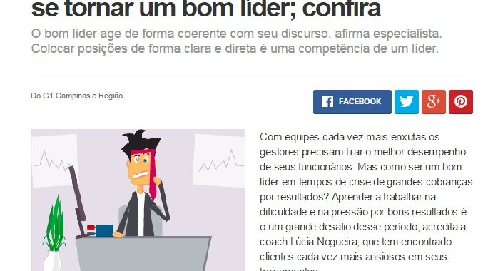 Especialista Dá Sete Dicas Para Gestor Se Tornar Um Bom Líder