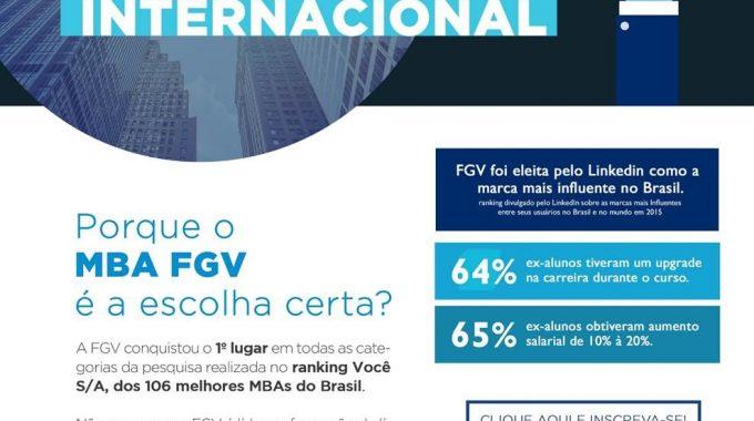 MBA FGV é A Escolha Certa