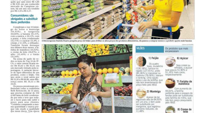 Feijão Lidera O Ranking Da Inflação