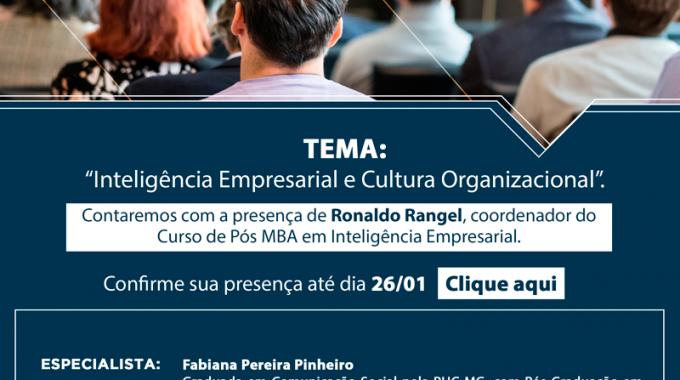 Aula Inaugural Pós MBA 2017