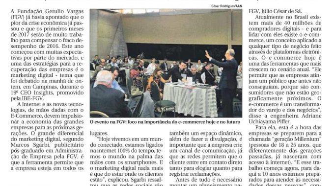 IBE Conveniada FGV Campinas Debate O Marketing Digital