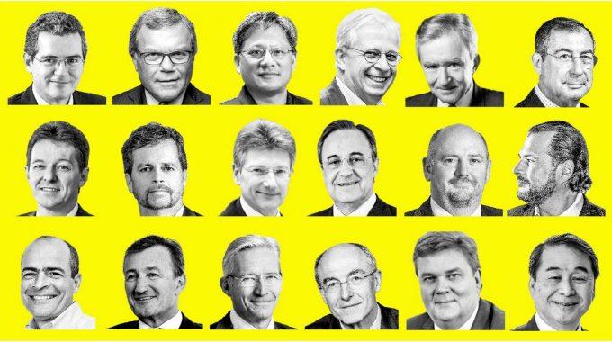 Os CEOs De Melhor Desempenho No Mundo De 2017