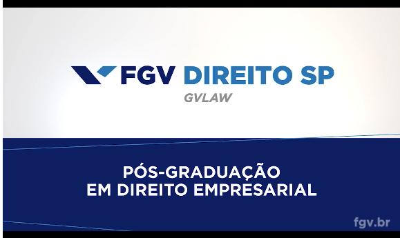 Pós-FGVlaw Em Direito Empresarial