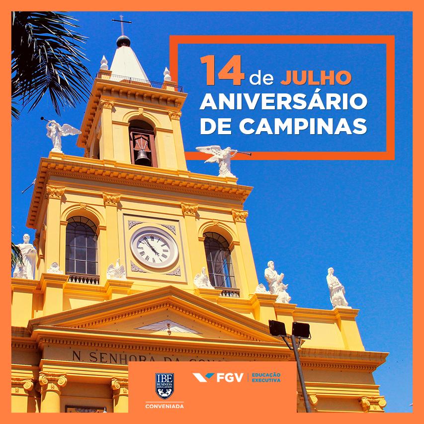 244 Anos De História: Veja A Contribuição Da IBE Conveniada FGV Para Campinas