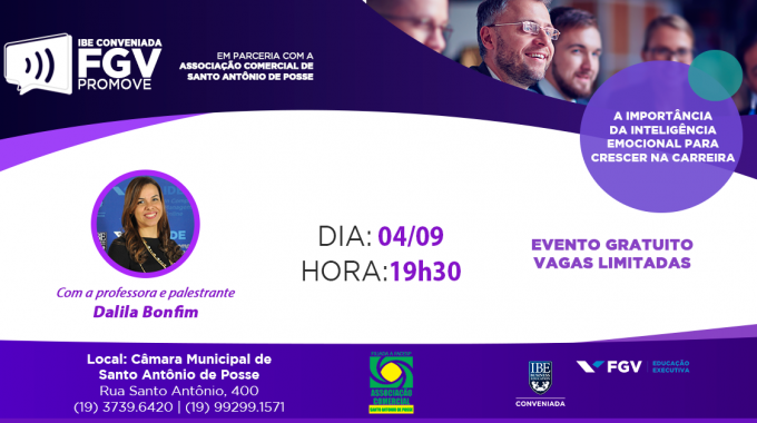 IBE Conveniada FGV Promove: Palestra Sobre Inteligência Emocional