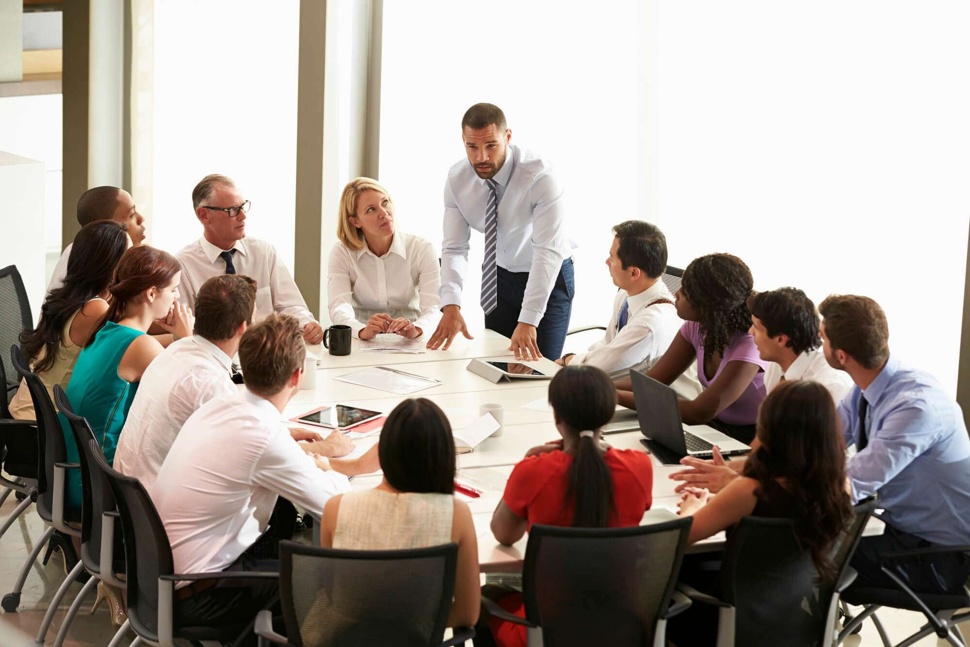 8 Técnicas Para Se Destacar Em Uma Reunião De Negócios