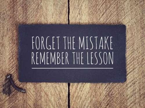 Aprender Com O Erro