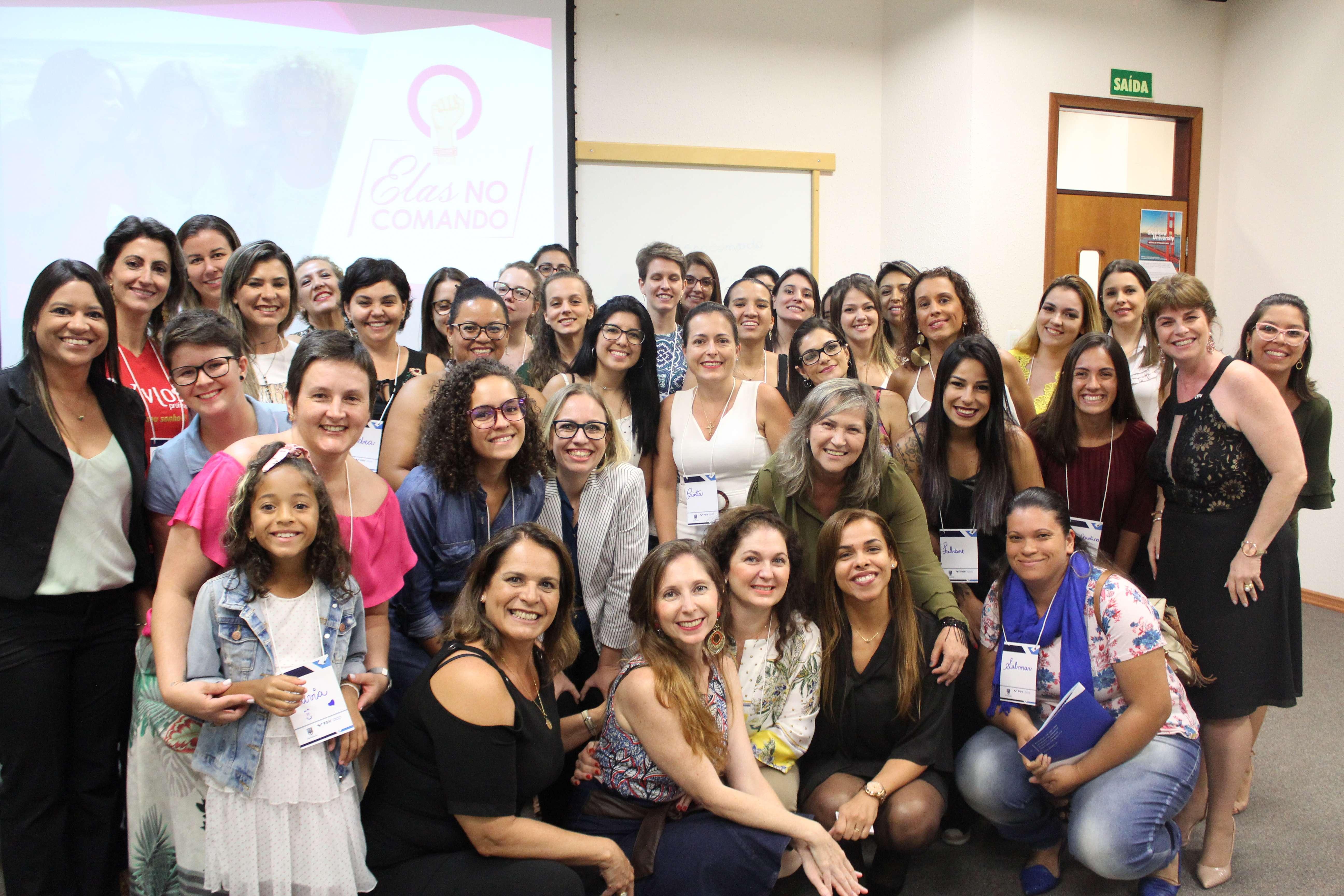 Participantes Do Evento Elas Co Comando Promovido Pela Ibe Conveniada Fgv Campinas