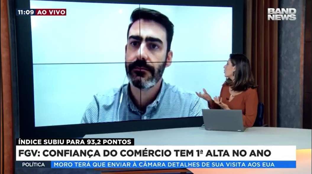 Professor Da IBE Conveniada FGV Faz Participação Ao Vivo Na BandNews TV
