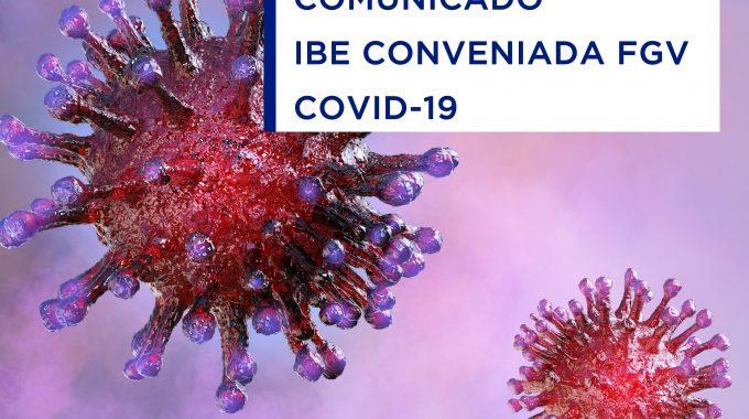 Corona Coronavirus Ibe Conveniada Fgv Covid19
